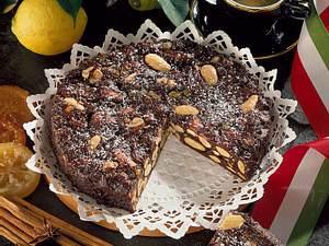 Italienischer Gewürzkuchen (Panforte de Siena) Rezept