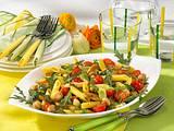 Italienischer Nudel-Geflügel-Salat Rezept