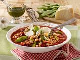 Italienischer Sommer-Bohneneintopf Rezept