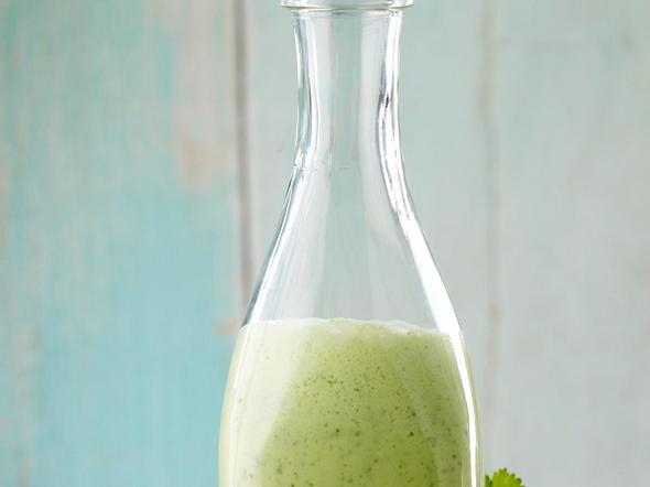 Joghurt-Dressing mit Ingwer, Koriander und Limette Rezept