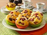 Joghurt-Muffins mit Pflaumen Rezept