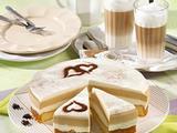 """Joghurt-Torte """"Latte Macchiato"""" Rezept"""