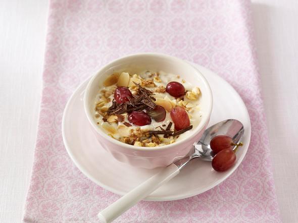 Joghurt-Trauben-Müsli (Flat Belly Diät) Rezept