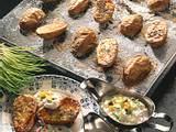 Joghurt- und Quark-Dip zu Ofenkartoffeln Rezept