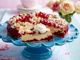 Johannisbeer-Quarkkuchen Rezept