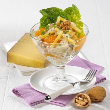 Käse-Cocktail mit feiner Senfcreme Rezept