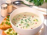 Käse-Cremesuppe mit Zucchini Rezept