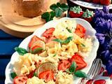Käse-Erdbeersalat Rezept
