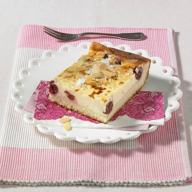 Käse-Kirsch-Kuchen Rezept