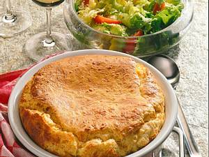 Käse-Möhren-Souffle Rezept