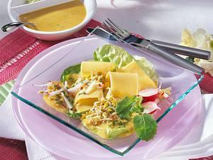 Käse-Radieschen-Salat Rezept