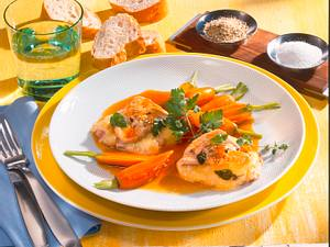 Käse-Saltimbocca Rezept