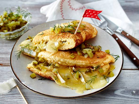 Käse-Schaumomelett Rezept