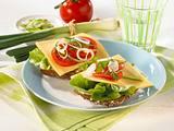 Käse-Tomaten-Brötchen Rezept