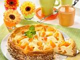 Käsekuchen mit Aprikosen Rezept