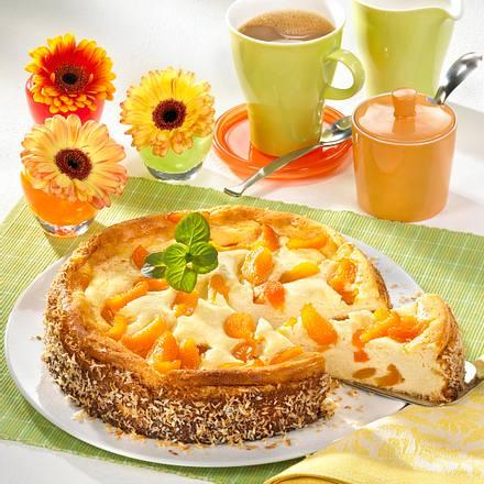 Käsekuchen mit Aprikosen (Diabetiker) Rezept