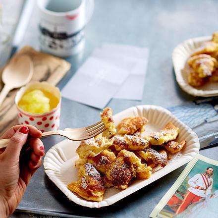 Kaiserschmarrn mit Apfel-Ingwer-Kompott Rezept