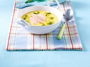 Kalte gelbe Paprika-Kokosmilch-Suppe Rezept