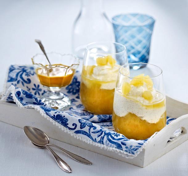 Kamacreme zu Apfel-Sanddorn-Kompott Rezept