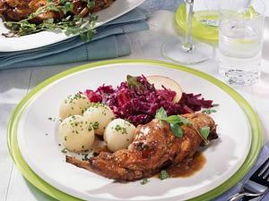 Kaninchen nach Rheinischer Art Rezept