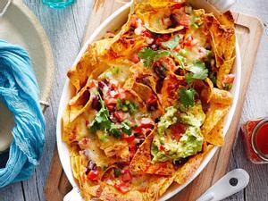 Karacho-Nachos mit Guacamole Rezept