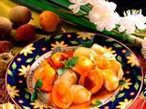 Karamellisierte exotische Früchte Rezept