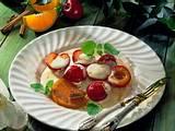 Karamellisierte Pflaumen mit Orangen-Zabaione Rezept