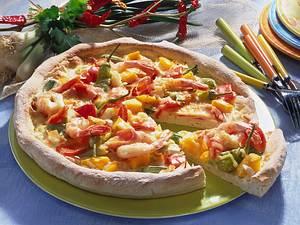 Karibische Pizza Rezept
