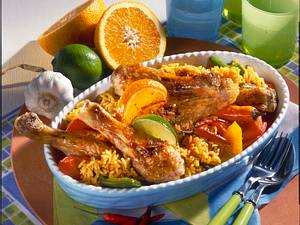 Karibischer Hühnertopf Calypso Rezept