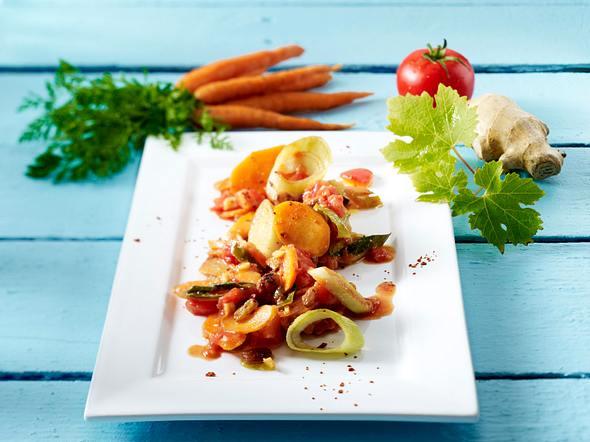 Karotten-Ingwer-Gemüse Rezept