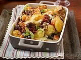 Kartoffel-Auflauf mit Hackbällchen Rezept
