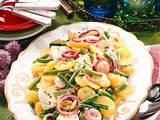 Kartoffel-Bohnen-Salat mit Pfeffer-Brie Rezept