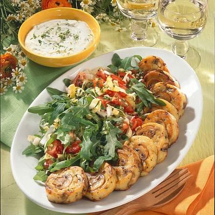 Kartoffel-Champignon-Plätzchen Rezept