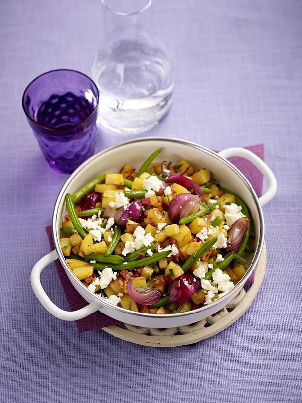 Kartoffel-Gemüse-Pfanne (Trennkost - Kohlenhydrate) Rezept