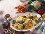 Kartoffel-Gemüse-Platte Rezept