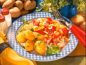 Kartoffel-Gemüseteller Rezept