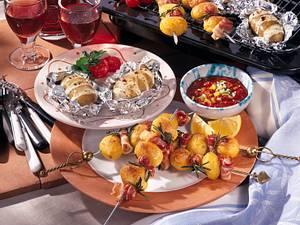 Kartoffel-Grill-Teller Rezept