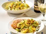 Kartoffel-Gurken-Salat zum Schnitzel Rezept