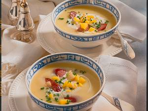 Kartoffel-Knoblauch-Suppe Rezept