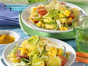 Kartoffel-Lauch-Salat Rezept