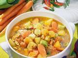 Kartoffel-Möhren-Topf mit Nüssen Rezept
