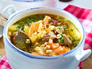 Kartoffel-Möhren-Topf mit Rindfleisch Rezept