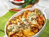 Kartoffel-Palatschinken mit Hack Rezept