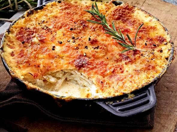 Kartoffel-Pastinaken-Gratin Rezept
