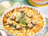 Kartoffel-Pilz-Gratin Rezept