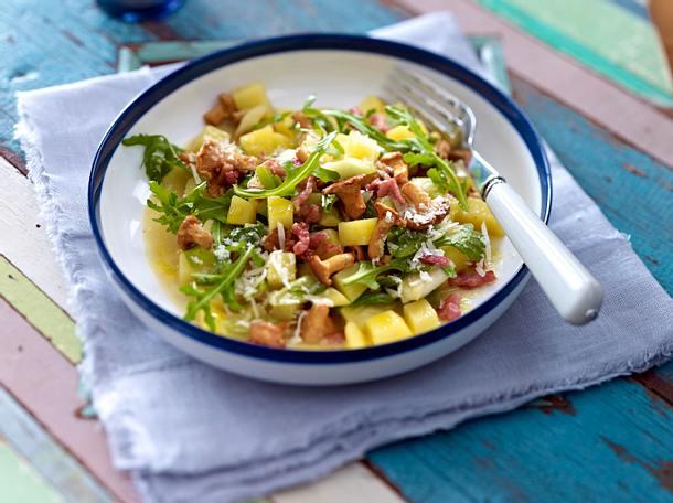 Kartoffel-Risotto mit frischen Pfifferlingen Rezept