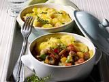 Kartoffel-Schnitzel-Auflauf Rezept