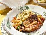 Kartoffel-Sellerie-Püree und Kotelett Rezept