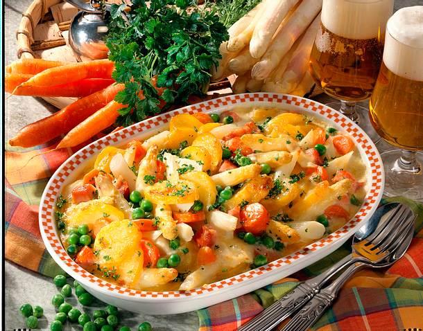 Kartoffel-Spargel-Auflauf Rezept