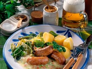 Kartoffel-Specksoße zu Wirsing & Bratwurst  Rezept